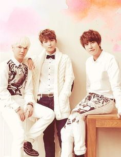 Yesung, Ryeowook, and Kyuhyun
