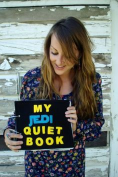 """A """"quiet book"""" filled with all sorts of fun kid-friendly activities to keep them happy and quiet. Could work with a lot of really cool themes. :)"""