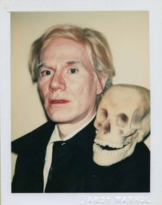 Andy Warhol self-portrait 1978 ♣️Fosterginger.Pinterest.ComMore Pins Like This One At FOSTERGINGER @ PINTEREST No Pin Limitsでこのようなピンがいっぱいになるピンの限界