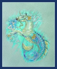 Mermaid & the Hippocampus  by Michelle McIntyre