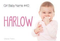baby name: Harlow