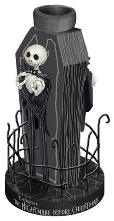 Nightmare Before Christmas FENCED JACK Votive Candle Holder * Continue to the product at the image link.
