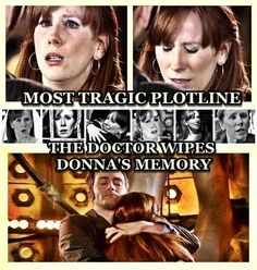 So glad I'm not the only one who thinks so.  No companion learned so much with The Doctor, discovered so much self-worth, came so into their own as Donna.  There was no one person the Doctor helped change for the better more than Donna.  To know that she still struggles to get it all back, and how it hurt Ten not to be able to do it, makes it even worse.