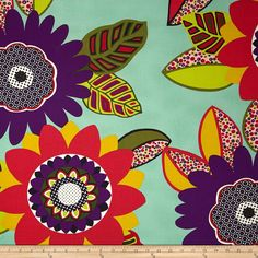 Alexander Henry Africa Fabrics - this is as great fabric for a One Block Wonder!