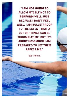 Swimming Posters - 20 Great Quotes About Swimming for Sports Bulletin Boards Inspirational Posters, Inspiring Quotes, Great Quotes, School Resources, Teacher Resources, Middle School Posters, Sports Bulletin Boards, Swimming Posters, Swimming Coach