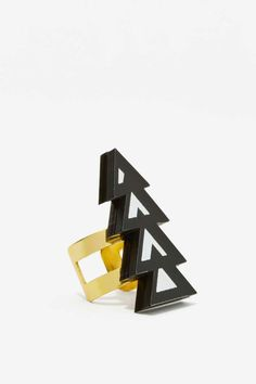 Melody Ehsani Mina Acrylic Ring - Accessories | Rings