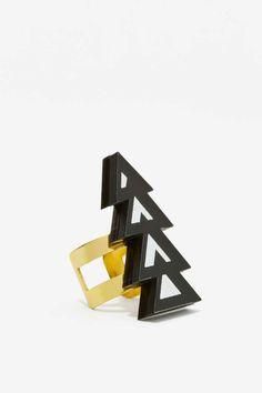 Melody Ehsani Mina Acrylic Ring - Accessories   Rings