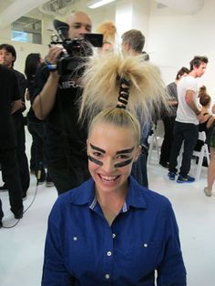 tribal hair and make up