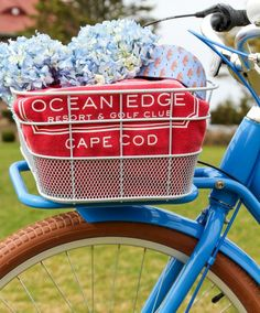 Freedom Flyer baskets can hold all your stuff. Perfect for your Ocean Edge purchases!