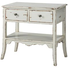 Uttermost Varali Pale Gray Accent Table
