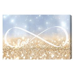 Infinite Love Sign Canvas Print, Oliver Gal at Joss and Main
