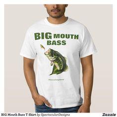 BIG Mouth Bass T Shirt