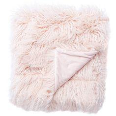 Jaipur Hamlin Gobi Throw Blanket (7.275 RUB) ❤ liked on Polyvore featuring home, bed & bath, bedding, blankets, white blanket, pale pink throw blanket, pink baby bedding, textured blanket and white bedding