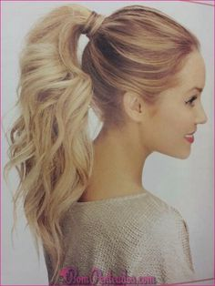 Cute Ponytail Ideas: Summer and Fall Hairstyles for Long Hair - PoPular Haircuts Cute High Ponytail Hairstyles IdeasCute High Ponytail Hairstyles Ideas Love Hair, Great Hair, Gorgeous Hair, High Ponytail Hairstyles, Pretty Hairstyles, Ponytail Ideas, Curly Ponytail, Hairstyle Ideas, Wedding Hairstyles