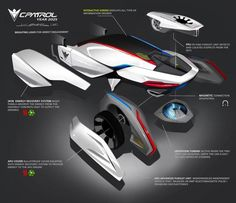 BMW ePatrol Concept Exploded View