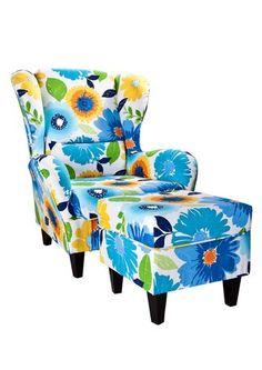 Sessel mit Hocker »Serie Nicola«. Der Nicola-Sessel (mit Hocker) vermittelt einen zeitlosen und gemütlichen Eindruck.