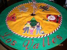 Pie para árbol de navidad