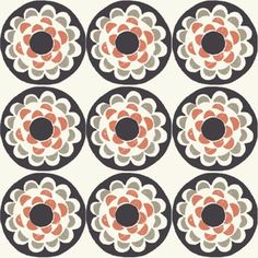 Ty Pennington - Impressions - Blossom in Charcoal