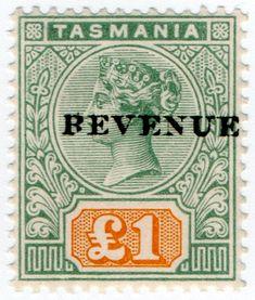 Tasmania, Stamps, Seals, Postage Stamps, Stamp
