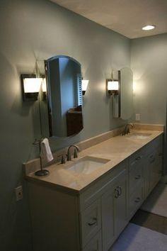 Cassleberry Bathroom - modern - Bathroom - Orlando - Morrone Interiors