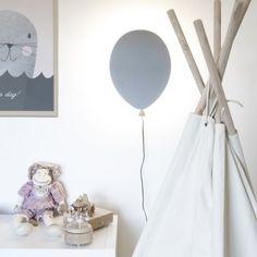 Ballong lampa barnrum hemtex