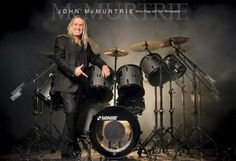 Nicko is back with SONOR Drums