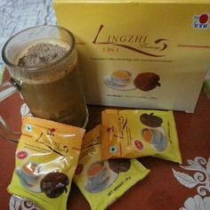 Iced DXN Lingzhi 3 in 1 Coffee - the cool coffee. ...