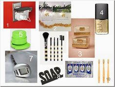 10 STOCKING STUFFERS FOR HIM and HER