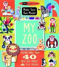 """My Zoo (Make Your Own Model Series)"", Ellen Giggenbach 2013"