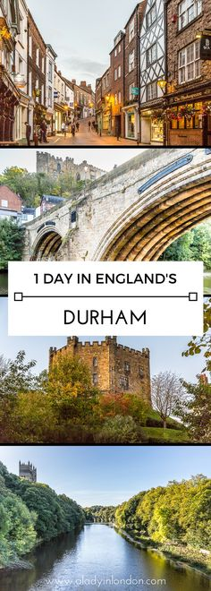 How to spend 1 perfect day out in Durham, England   #durham #england #uk #travel