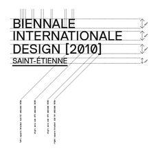 Biennale design 2010 – logotype
