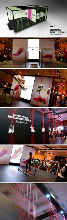 Pop Up shop by Nike