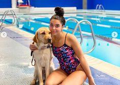 Gracias al apoyo de su perro guía, una adolescente ciega compite en los Juegos Paralímpicos de Tokio | SrPerro, la guía para animales urbanos. Look At Me, One Piece, Swimwear, Fashion, Teen, Train Hard, Swimmers, Urban, Thanks