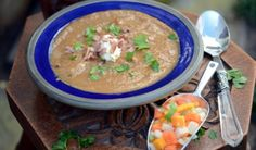 Spiced Moroccan vegetable soup