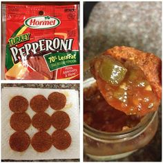 The Low Carb Diet: Low Carb Pepperoni Chips