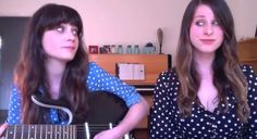 "Beautiful version of the Everly Brothers' ""Love Hurts"" by Zooey Deschanel & Sasha Spielberg via @HelloGiggles: http://hellogiggles.com/video-chat-karaoke-special-zooey-deschanel-sasha-speilberg-love-hurts-nazareth"