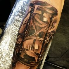 nice Top 100 Hourglass Tattoos - http://4develop.com.ua/2016/01/30/top-100-hourglass-tattoos/ Check more at http://4develop.com.ua/2016/01/30/top-100-hourglass-tattoos/
