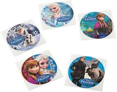 Disney's Frozen Movie Stickers