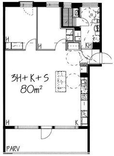 Aurinkotuulenkatu, Aurinkolahti, Helsinki, 3h+k+s 80 m², SATO vuokra-asunto