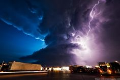 Supercell - photo from http://www.extremeinstability.com/
