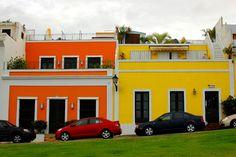colorful Old San Juan -- Puerto Rico