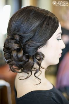 Side Updo Hairstyles Ideas In 2020 Picture Strikingly Gorgeous Side Updo Wedding Hairstyles Wedding Hair Side, Wedding Hair And Makeup, Bridal Hair, Hair Makeup, Men Makeup, Wedding Nails, Makeup Ideas, Bridesmaid Hair Vintage, Vintage Wedding Hair