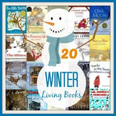 Top Living Literature Picks for Winter - great for pulling together a seasonal unit study!