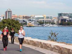 Barangaroo Reserve Sydney, New York Skyline, Things To Do, Running, City, Fitness, Travel, Beautiful, Things To Make