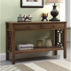 Sideboard Table, Buffet Console, Credenza, Rustic Entryway, Entryway Decor, Sofa Table Decor, Sofa Tables, Living Room Designs, Living Room Decor