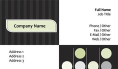 White and black ladybug business card template business card ideas choose from one of our free business card templates at overnight prints or upload your own design reheart Image collections