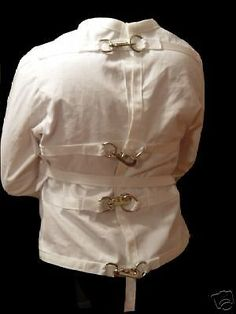 Straight jacket: high collar | Bobbi | Pinterest | Straight jacket ...