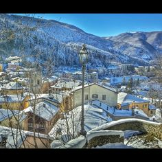 The hamlet of Sestola, situated into the park of Frignano at the foot of mount Cimone - Instagram by djpalmis
