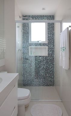 facilisimo.com Idea baño planta baja                                                                                                                                                      Más #modelosdecasasdechacara