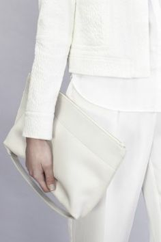 Ways To Wear: All White. Madison Clutch